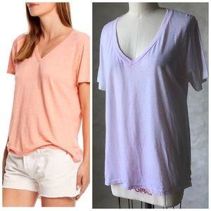 🇺🇸 MICHAEL STARS V Neck T-Shirt Short Sleeves